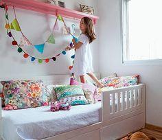Para quartos de criança, ou para onde a inspiração e criatividade deixar. :)