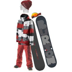 """""""Snowboard outfit 1"""" by burtonshredder on Polyvore"""