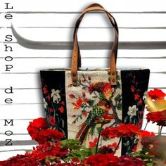 Wanted !!! Big Reward for this blossom tote  #canvas #needlepoint…