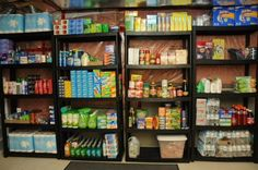 Build a Grocery Stockpile. Have you been thinking about starting a grocery stockpile to save money? It& really not that hard to do - I promise! It does ta Survival Shelter, Survival Prepping, Emergency Preparedness, Survival Skills, Survival Gear, Survival Quotes, Survival Clothing, Emergency Preparation, Survival Hacks