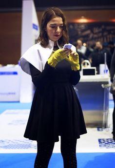 MBFW Madrid: Bolero Benavente, Vestido Style Moi, Guantes Uterque