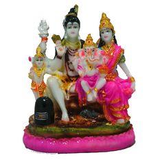 Shiv and parvati #statue buy online at #craftshopsindia