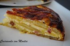Cocinando con Montse: Pastel de patatas