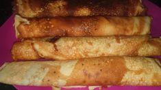 Diétás palacsinta liszt nélkül, krémsajtból - olvasói fotó Nutella, Hot Dogs, Sausage, Bacon, Clean Eating, Low Carb, Cooking Recipes, Keto, Sweets