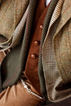 It is a matter of sartorial choice to decide how to start an amazing day :D Mode Masculine, Mode Outfits, Fall Outfits, Moda Formal, Inspiration Mode, Harris Tweed, Well Dressed, Aesthetic Clothes, Aesthetic Outfit