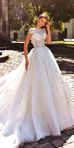 Crystal Design Wedding Dresses 2016 ❤ See more: http://www.weddingforward.com/crystal-design-wedding-dresses/ #wedding #dresses #vestidodenovia | #trajesdenovio | vestidos de novia para gorditas | vestidos de novia cortos http://amzn.to/29aGZWo