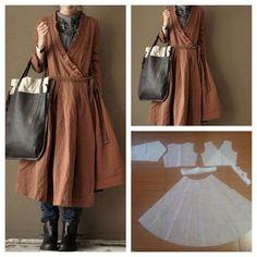 Outer wrap dress pattern.  Order via line : @modelliste (with @) #dresspattern#modellistepattern#poladress#jualpola#jasapola#polaonline#jasapolaonline#polaonlineshop#polabaju#jualpoladress#jasapembuatanpola#wrapdress#wrapdresspattern#polawrapdress#poladressikat#polaouterdress