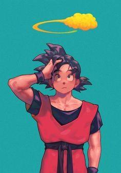 Goku 4, Son Goku, Dragon Ball Z, Illustration Studio, Couples Anime, Goku Manga, Goku Drawing, Super Anime, Art Anime