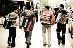 Band of Gypsies #gypsies #band #accordions