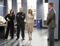 captain sharon raydor | Corey Reynolds (David Gabriel), Mary McDonnell (Captain Sharon Raydor ...