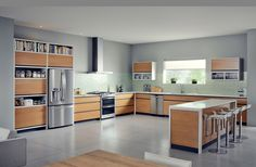 We studied your kitchen habits to improve our appliances.