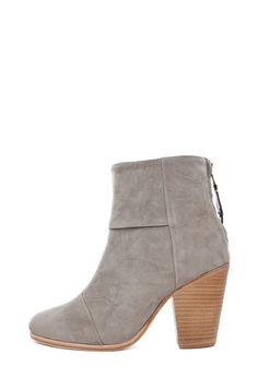 Shop for Rag & Bone Classic Newbury Suede Boots in Grey at FWRD. Suede Boots, Bones, My Style, Lady, Heels, Classic, How To Wear, Shopping, Lucy Liu