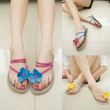 """2015 Womens Sandals Hot Sales Ankle Strap Womens Summer Slippers Flower Comfort Ladies Shoes Wholesales """"(China (Mainland))"""
