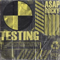 Asap Rocky Testing, Hip Hop Albums, Music Stuff, Album Covers, Company Logo, Ocean, Movie Posters, Film Poster, The Ocean