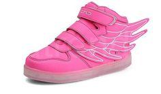 Dragonfly light LED barnesko -   LED-skoene finner du i nettbutikken ledtrend.no. Prisene på ledskoene varer varierer fra 599-, og oppover, GRATIS frakt på alle varer. Vi har mange forskjellige LED-sko, ta en titt da vel? på: www.ledtrend.no Barn, Wedges, Led, Sneakers, Collection, Shoes, Fashion, Tennis, Moda