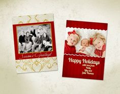 Digital christmas cards free template downloads craftiness ideas free holiday card template flashek Image collections