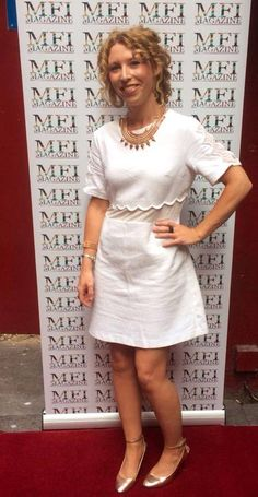 Pictured at the MFI Magazine Summer Party Shots, White Dress, Magazine, Party, Summer, Pictures, Dresses, Fashion, Photos