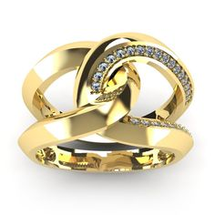 Super Bold And Gorgeous 1/4 Carat Diamond Band In 14K Yellow Gold (I-J, I1-I2)