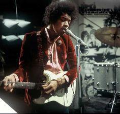 Hoepla-the Jimi Hendrix Experience. © (ANP/Kippa)