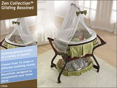 Fisher-Price Zen Collection Gliding Bassinet  From Fisher-Price  List Price: 	$269.99  Price: 	$174.99
