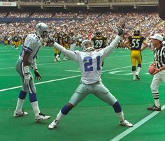 In Sept. 1995, the Cowboys signed free agent cornerback Deion Sanders to a $35 million contract, making him the highest-paid defensive player in the NFL. Dallas is hoping its latest free agent cornerback, Brandon Carr, can match Sanders' success. The former Chief signed a five-year, $51 million deal to shore up the Cowboys defensive backfield. The move has already paid off, says SI's Chris Burke, who noted that Carr picked off Philip Rivers twice in the recent Dallas-San Diego game.