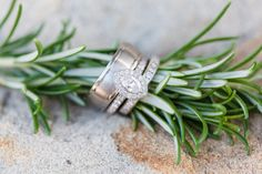 Details of the wedding rings