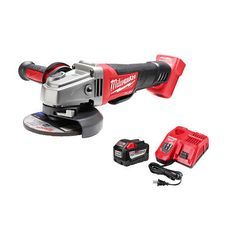 Milwaukee 2780-22HD 18-Volt 5-Inch M18 FUEL Paddle Switch No-Lock Grinder Kit