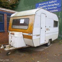 Vintage caravan makeover project