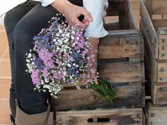 ramo paniculata Floral Bouquets, Wedding Bouquets, Wedding Flowers, Floral Wreath, Fall Flowers, Fresh Flowers, Dried Flowers, Arte Floral, Floral Tie