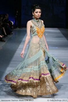 Love the sheer design, Indian dress, Indian Bridal, bridal gown, bridal dress, asian, fashion, couture