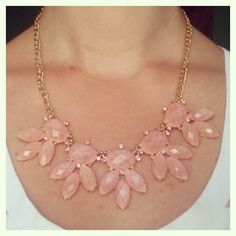 Pink statement necklace Pearl Necklace, Pearls, Instagram Posts, Pink, Accessories, Jewelry, Fashion, String Of Pearls, Moda