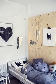 plywood kids room