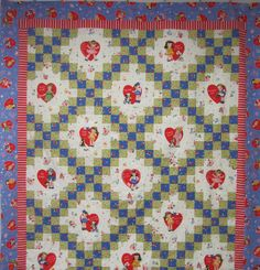 Chain of Love Quilt Kit - Pam Kitty Love - Lakehouse