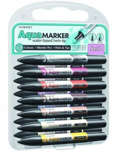 Letraset Aqua Markers... Would LOVE to get my hands of some of these!!