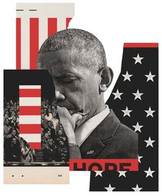 The New York TimesSunday Review Cover — The Obama Years - How Black America Saw ObamaArt Direction — Nathan Huang Next