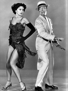 Cyd Charisse and Fred Astaire, 'Sombrero' 1953