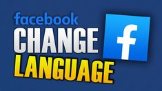 HOW TO CHANGE LANGUAGE ON FACEBOOK Delete Facebook, Names, Technology, Videos, Tips, Youtube, Android, Iphone