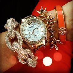 Pretty pav bracelet