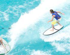 Wakesurfing on a Ronix Cortez