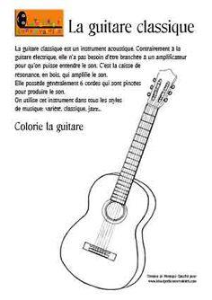 La guitare classique