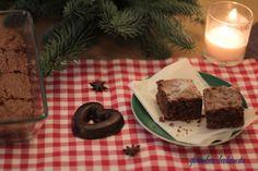 Lebkuchen Brownies #glutenfrei und #laktosefrei Das Rezept ist ganz einfach und die Brownies sind in weniger als einer Stunde fertig.