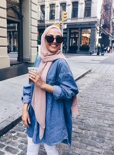 Muslim Fashion 626141154428006037 - Source by ChaiimaAlg Modern Hijab Fashion, Street Hijab Fashion, Hijab Fashion Inspiration, Muslim Fashion, Modest Fashion, Fashion Outfits, Fashion Muslimah, Fashion Fashion, Casual Hijab Outfit
