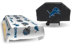 NFL Economy Grill Cover and 2-Pack of Table Covers