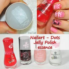 nailart, jelly polish, essence, essence cosmetics, born pretty store, nur besten, stamper, stamping, nail stamping, dots