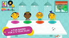 games will engage your child and make him smile, while teaching him why sharing is so important