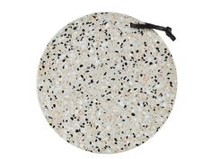 VILLA Collection Serveringsbræt Terrazzo Natur Sort D cm H cm Bulk pack Terrazzo, Villa, H 1, Beige, Collection, Home Decor, Material, Snacks, Products