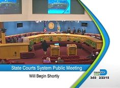 View videos from the Florida Office of the Courts Administrator - Strategic Planning Division