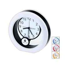 Round pendulum analog clock swings back and forth with your logo for maximum exposure. Logo is digitally printed on the pendulum dial. Swings, Wall Clocks, Logo, Detail, Printed, Digital, Logos, Logo Type, Swing Sets