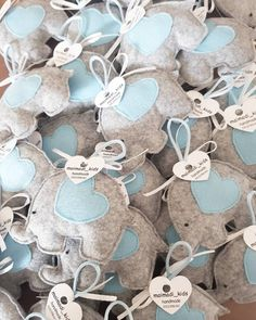 I make favors for events (Baby Shower, Baptism, Birth, Communion, . Baptism Favors, Baby Shower Favors, Baby Boy Shower, Communion Favors, Diy Arts And Crafts, Felt Crafts, Wild One Birthday Party, Felt Baby, Baby Memories
