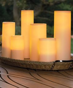 Set creates instant ambience with the touch of a button.